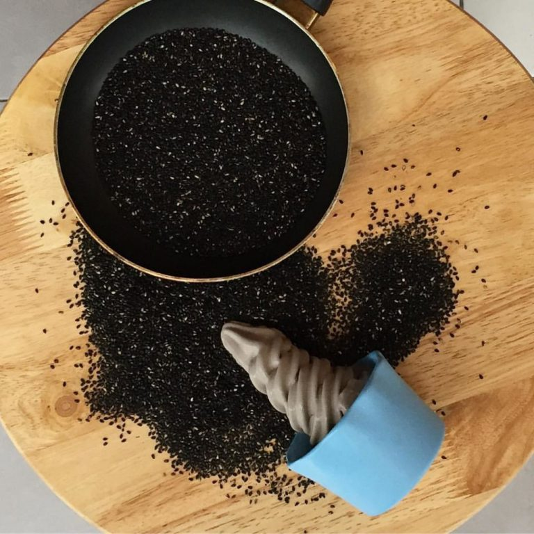 Hail's first started out with Osaka Black Sesame ice cream where its sesame seeds were sourced from Japan.